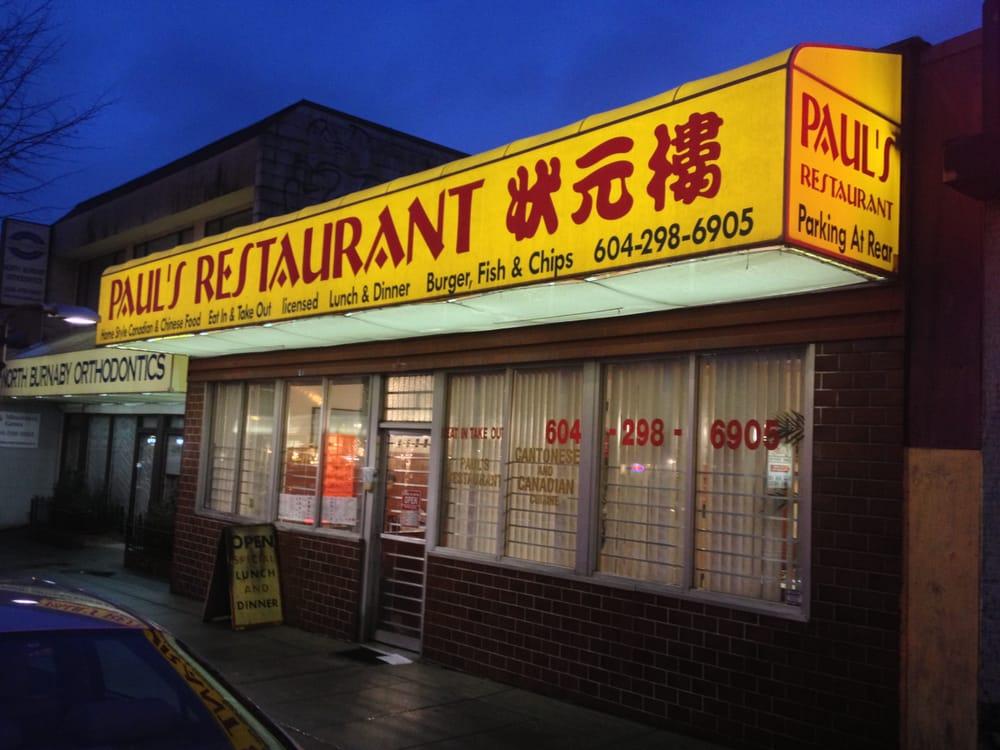 Pauls Restaurant - Propiedad de los padres de Elisa Lam