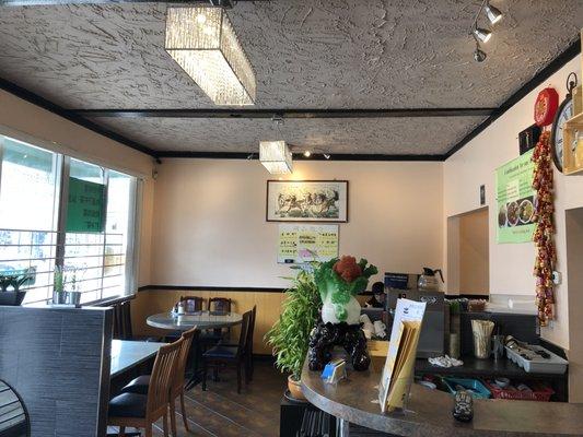 Interior restaurante de la familia de Elisa Lam