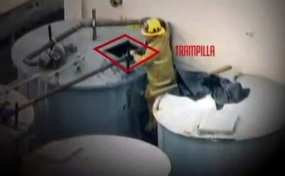 Trampilla tanque de agua Hotel Cecil