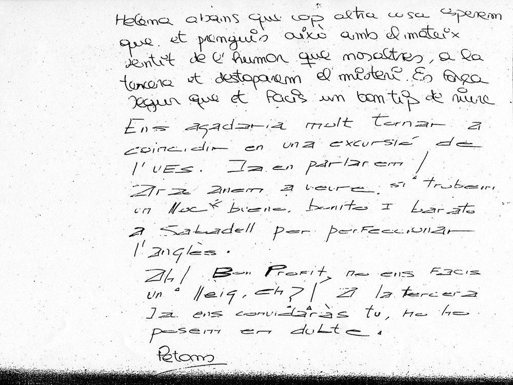 Helena Jubany notas,helena jubany juego de rol,helena jubany reapertura